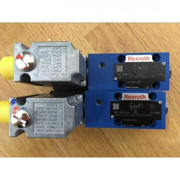 REXROTH 4WE 10 D3X/OFCG24N9K4 R900591664 Directional spool valves #2 image